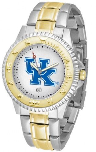Kentucky Wildcats Competitor Two-Tone Men's Watch