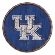 """Kentucky Wildcats Cracked Color 24"""" Barrel Top"""