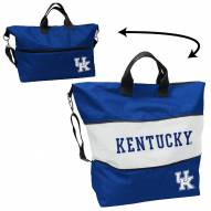 Kentucky Wildcats Crosshatch Expandable Tote