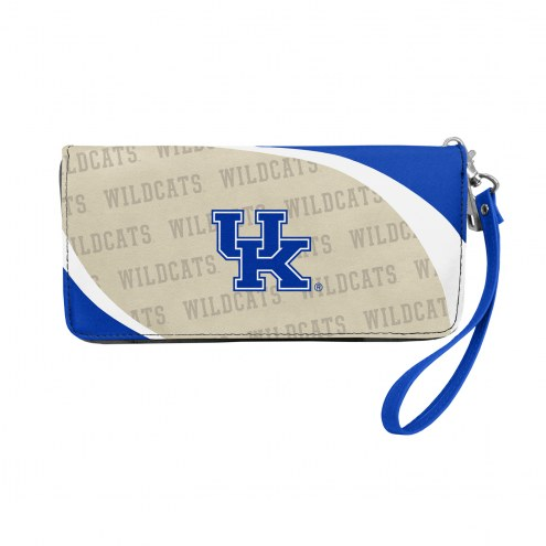 Kentucky Wildcats Curve Zip Organizer Wallet
