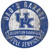 Kentucky Wildcats Dad's Garage Sign
