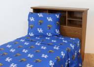 Kentucky Wildcats Dark Bed Sheets