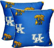 Kentucky Wildcats Decorative Pillow Set