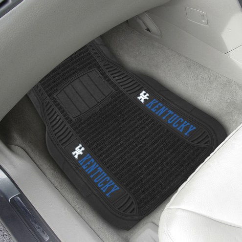 Kentucky Wildcats Deluxe Car Floor Mat Set