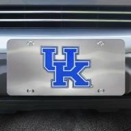 Kentucky Wildcats Diecast License Plate