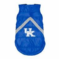 Kentucky Wildcats Dog Puffer Vest
