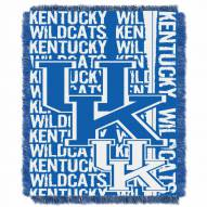 Kentucky Wildcats Double Play Woven Throw Blanket