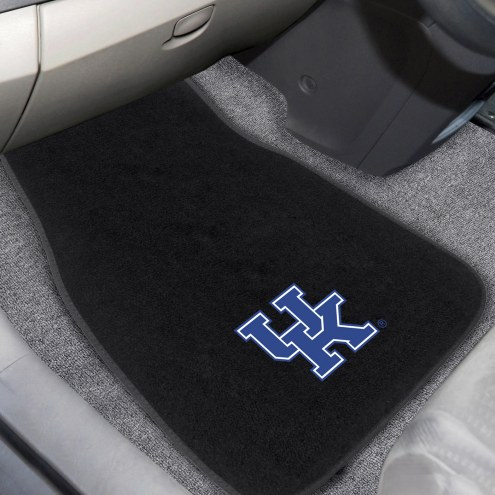 Kentucky Wildcats Embroidered Car Mats