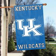 Kentucky Wildcats NCAA Applique 2-Sided Banner Flag