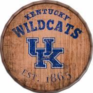 """Kentucky Wildcats Established Date 16"""" Barrel Top"""