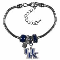 Kentucky Wildcats Euro Bead Bracelet