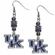 Kentucky Wildcats Euro Bead Earrings