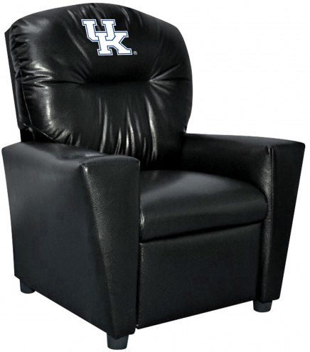 Kentucky Wildcats Faux Leather Kid's Recliner
