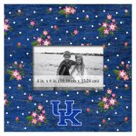 "Kentucky Wildcats Floral 10"" x 10"" Picture Frame"