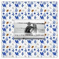 "Kentucky Wildcats Floral Pattern 10"" x 10"" Picture Frame"