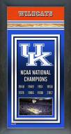 Kentucky Wildcats Framed Championship Print