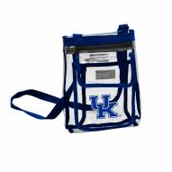 Kentucky Wildcats Gameday Clear Crossbody Tote
