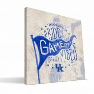 Kentucky Wildcats Gameday Vibes Canvas Print