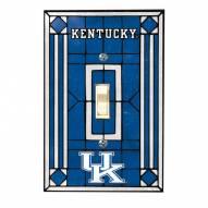 Kentucky Wildcats Glass Single Light Switch Plate Cover