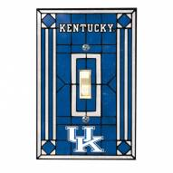 Kentucky Wildcats Glass Single Light Switch Plate Cover