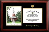Kentucky Wildcats Gold Embossed Diploma Frame with Campus Images Lithograph
