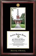 Kentucky Wildcats Gold Embossed Diploma Frame with Lithograph
