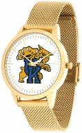 Kentucky Wildcats Gold Mesh Statement Watch