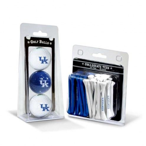 Kentucky Wildcats Golf Ball & Tee Pack