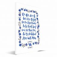 Kentucky Wildcats Hand-Painted Song Canvas Print