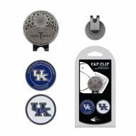 Kentucky Wildcats Hat Clip & Marker Set