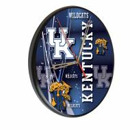 Kentucky Wildcats Digitally Printed Wood Clock