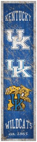 Kentucky Wildcats Heritage Banner Vertical Sign