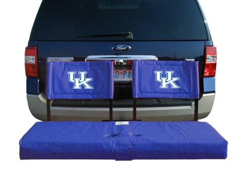 Kentucky Wildcats Tailgate Hitch Seat/Cargo Carrier