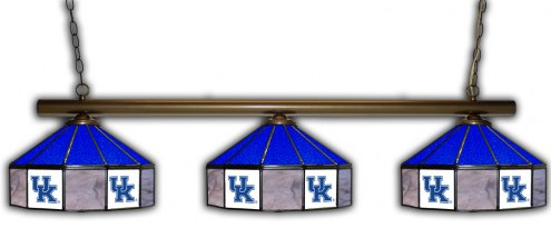 Kentucky Wildcats 3 Shade Pool Table Light