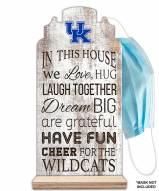 Kentucky Wildcats In This House Mask Holder