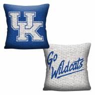 Kentucky Wildcats Invert Woven Pillow