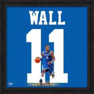 Kentucky Wildcats John Wall Uniframe Framed Jersey Photo