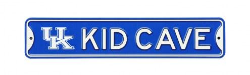 Kentucky Wildcats Kid Cave Street Sign