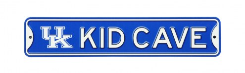 Kentucky Wildcats Kid Cave Street Sign