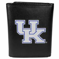 Kentucky Wildcats Large Logo Leather Tri-fold Wallet