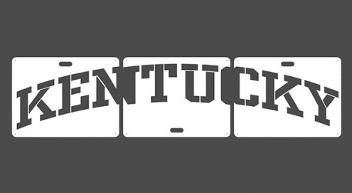 Kentucky Wildcats Lawn Stencil