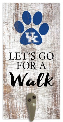 Kentucky Wildcats Leash Holder Sign