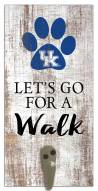 Kentucky Wildcats Leash Holder Sign