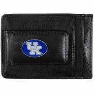 Kentucky Wildcats Leather Cash & Cardholder