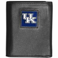 Kentucky Wildcats Leather Tri-fold Wallet