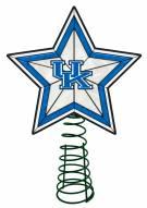 Kentucky Wildcats Light Up Art Glass Tree Topper