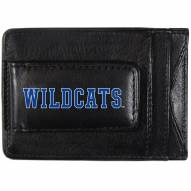 Kentucky Wildcats Logo Leather Cash and Cardholder