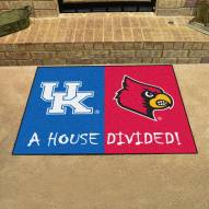 Kentucky Wildcats/Louisville Cardinals House Divided Mat