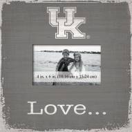 Kentucky Wildcats Love Picture Frame