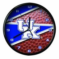 Kentucky Wildcats Football Clock